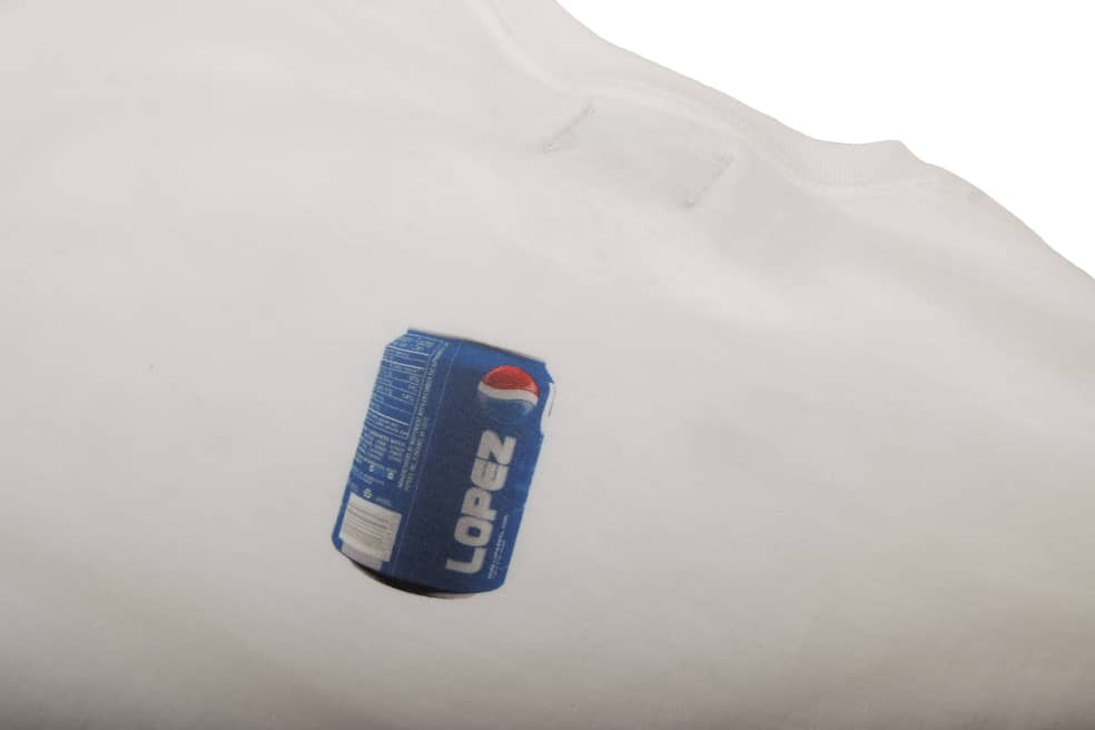 Lopez - For Your Thirst - White | T-Shirt by Lopez 3