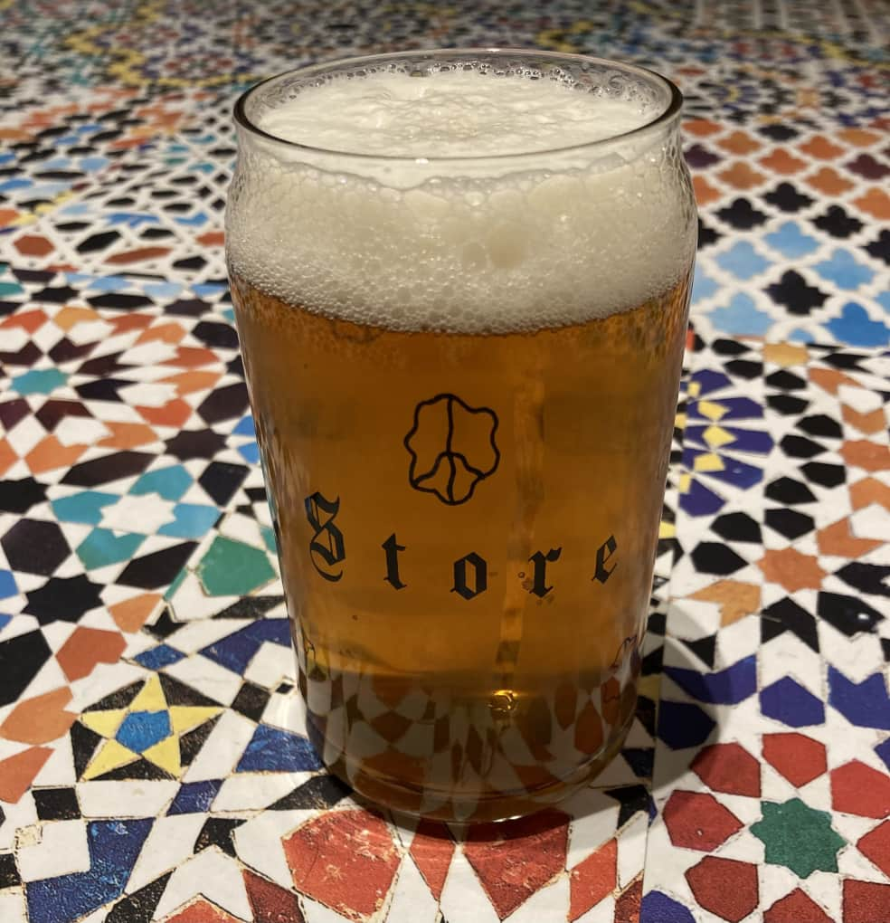 DRUG STORE Beer Can Glass   Giftables by Drug Store 2