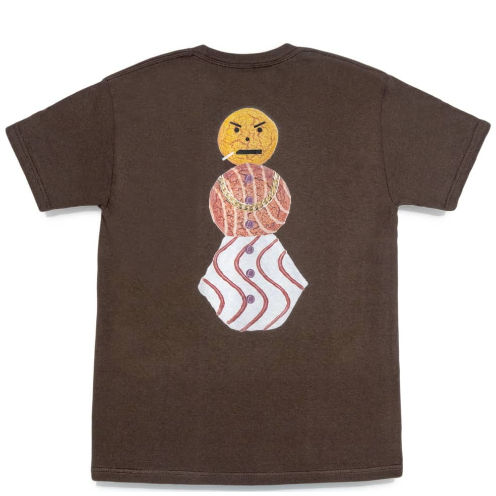 Quartersnacks Snackman T-Shirt - Chocolate | T-Shirt by Quartersnacks 1