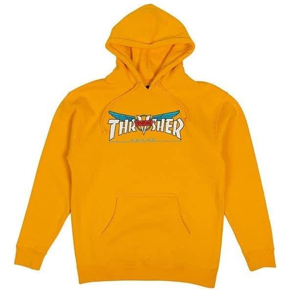 Thrasher Venture Collab Hoodie - Gold | Hoodie by Thrasher 1