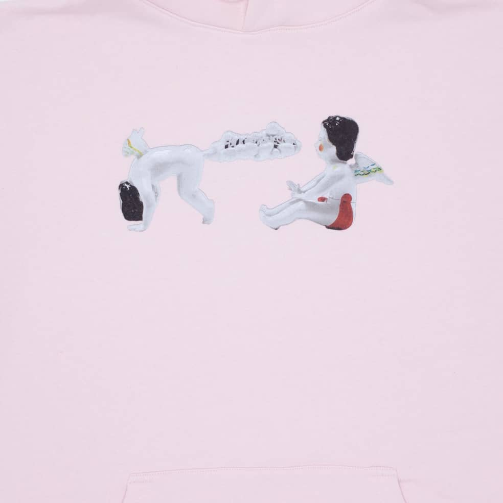 Fucking Awesome Cherub Fart Hoodie - Light Pink | Hoodie by Fucking Awesome 2