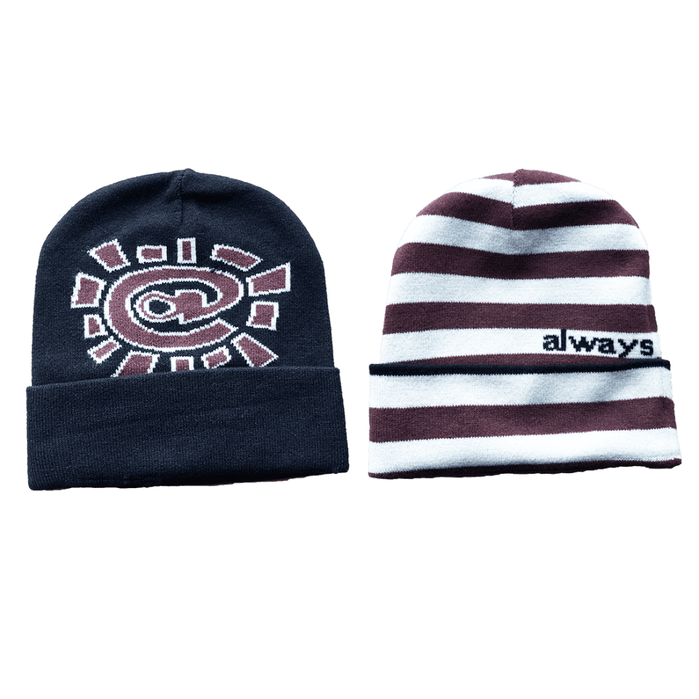 always do what you should do - reversible cuff beanie   Beanie by always do what you should do 1