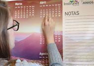 Calendario corporativo de pared