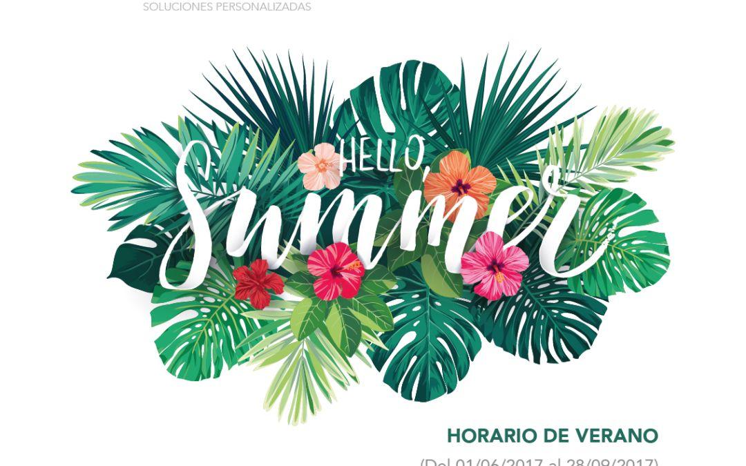 Nuevo horario de verano