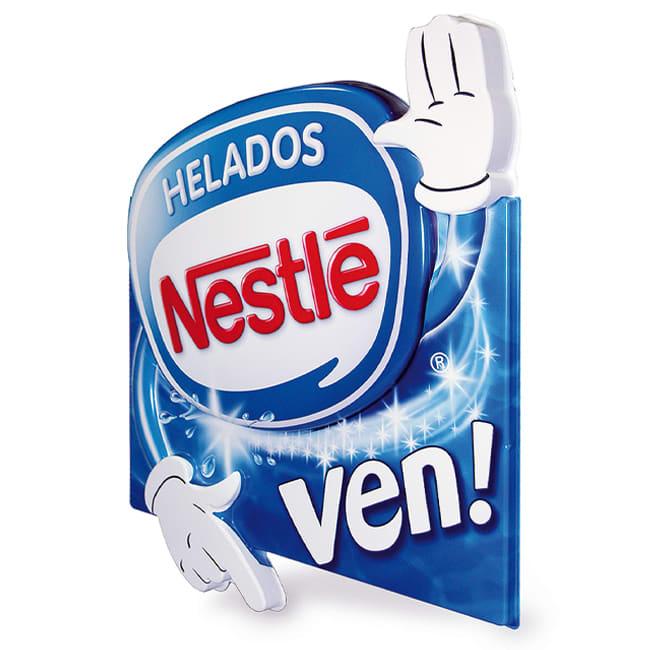 Carteles termoconformados para publicidad