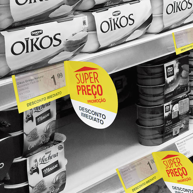 Marca – precios transparentes con stopper