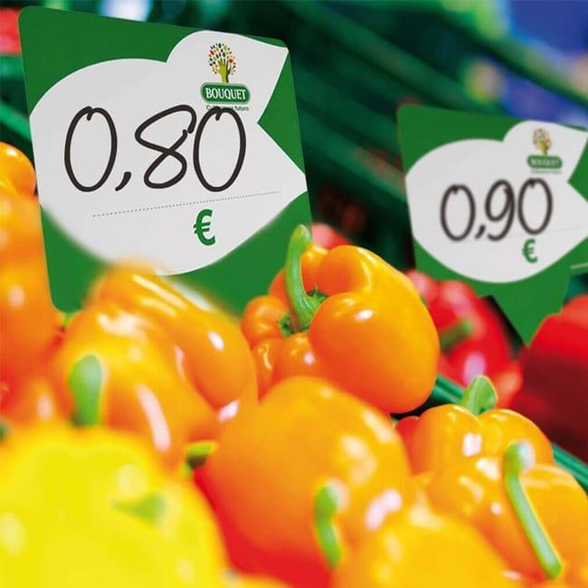 Pizarras para marcar precios