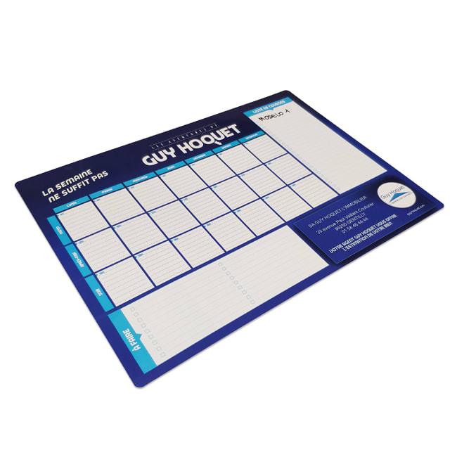 Calendarios promocionales con planificador