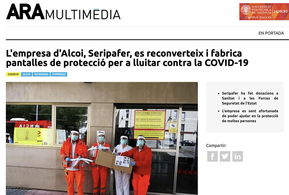 Artículo sobre Seripafer en Ara Multimedia