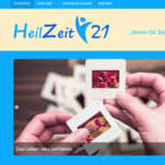Screenshot HeilZeit21.com