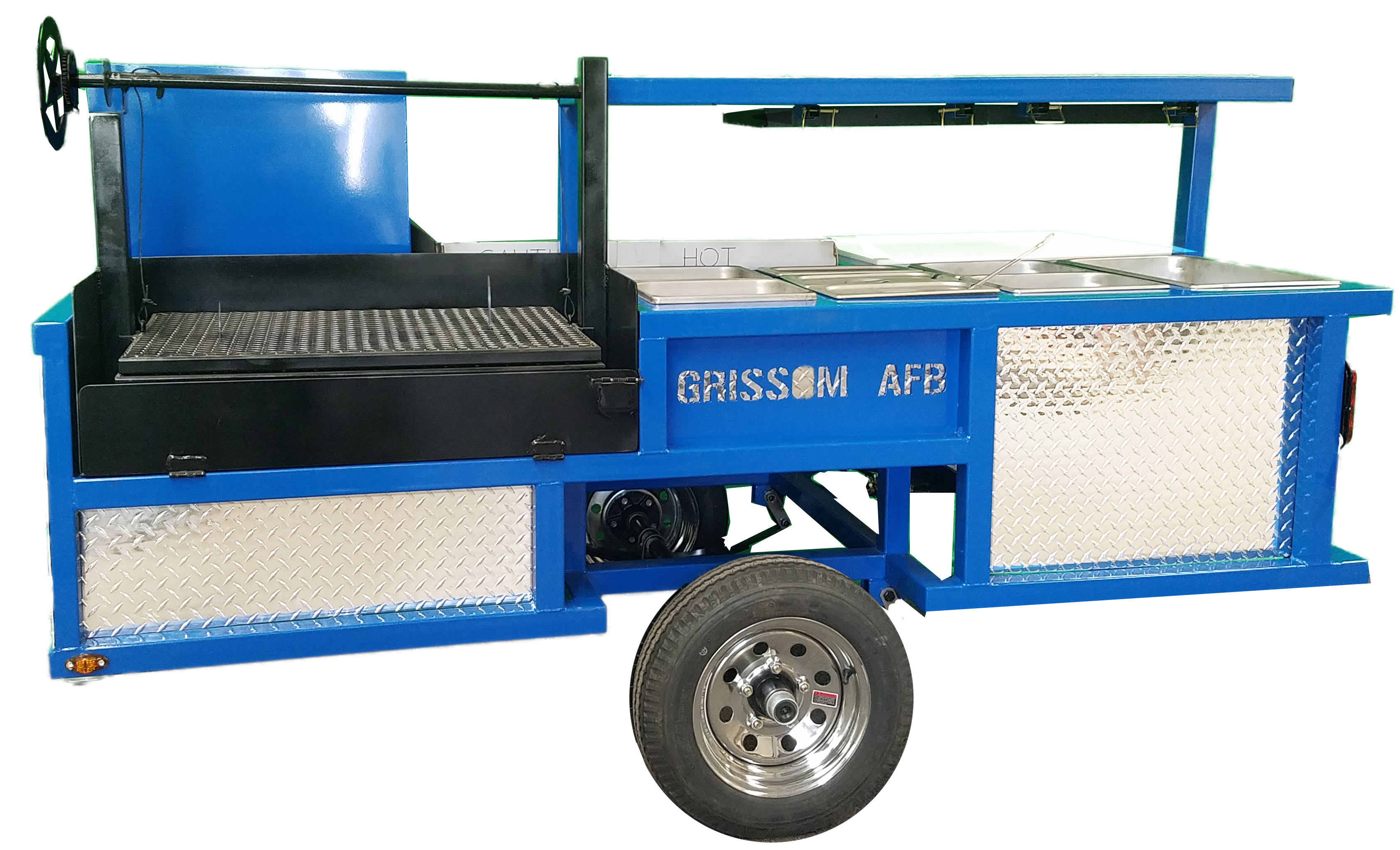 OMG Grills - Affordable Concession Trailers from Texas