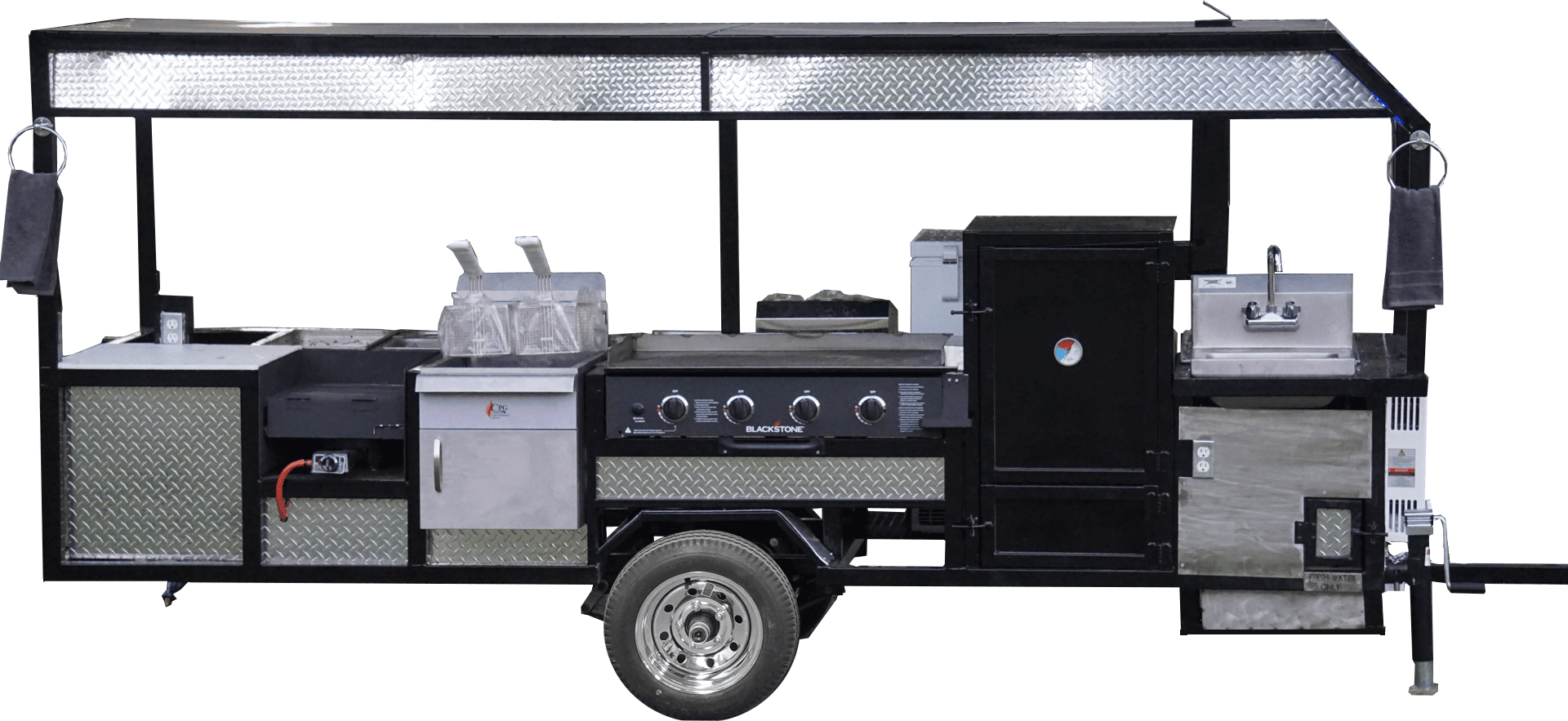 Lease to Own Concession Trailers - No Credit Check! | OMG Grills