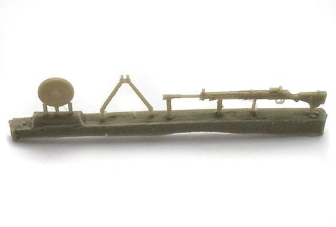 Soviet light machine gun DP-27, 3 pc
