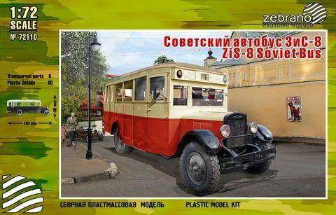 ZiS-8 Soviet Bus