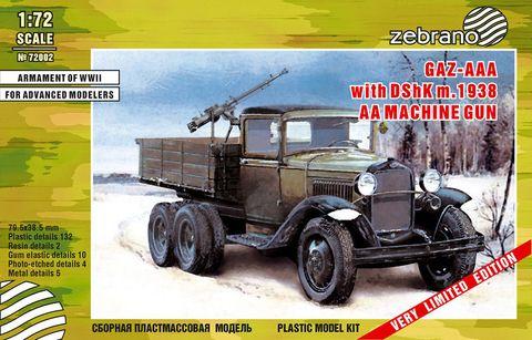 GAZ-AAA with DSHK m.1938