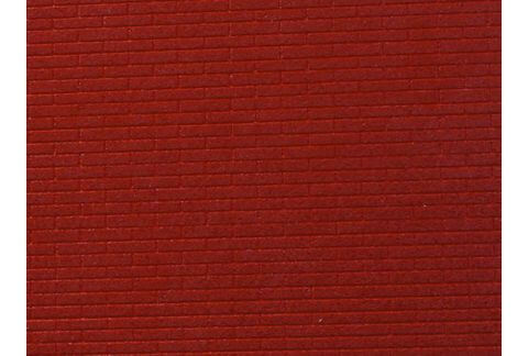Brickwork`s texture (red) 10x15 sm