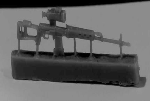 SVDN sniper rifle, 6pc