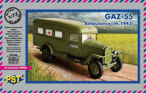GAZ-55 Ambulance (1943)