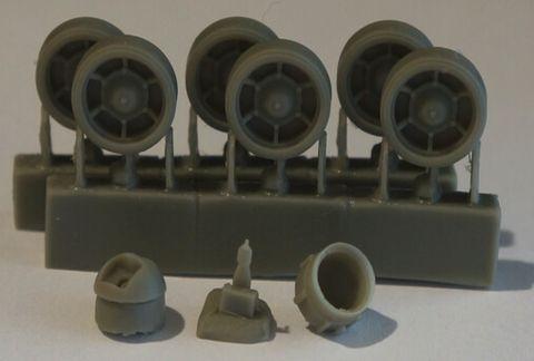 Коректировочный набор для Trumpeter #01561 Russian KV-1 Model 1939