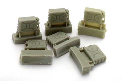 US plastic tank, 6pc