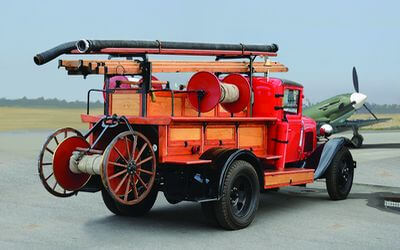 1/72 scale model PMG-1 Soviet Fire Engine