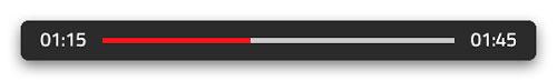 Reading Progress Bar Screenshot