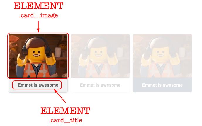 Exemplo de element