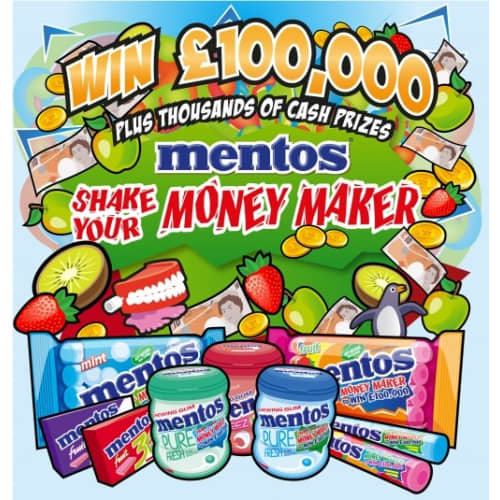 MENTOS 'SHAKE YOUR MONEY MAKER'