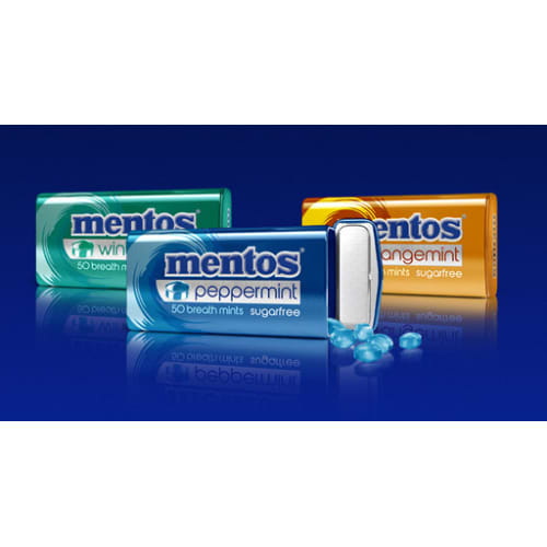 Mentos breath mints