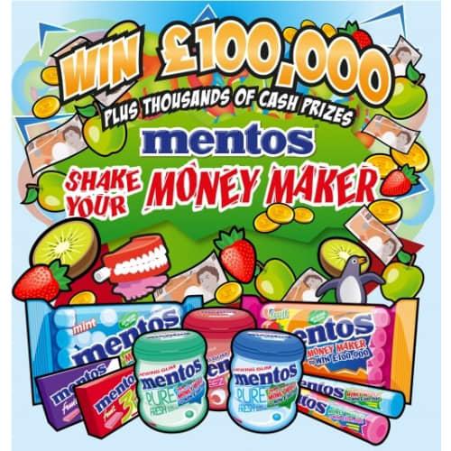 MENTOS 'SHAKE YOUR MONEY MAKER'