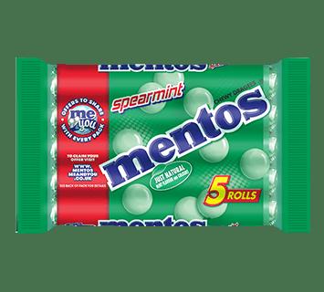 Mentos Spearmint 5 Pack