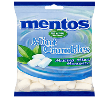 Mentos Mint Crumbles 200g Bag
