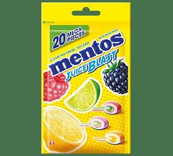 Mentos Gum Juice Blast