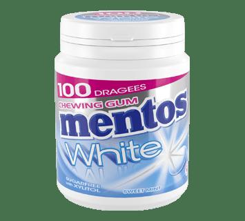 MENTOS KAUGUMMI WHITE SWEET MINT 100ST