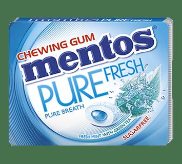 Mentos Pure Fresh - Fresh Mint flavour