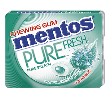 Mentos Pure Fresh - Wintergreen flavour