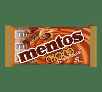 Mentos Choco & Caramel 3 pack