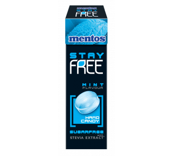 MENTOS STAY FREE MINT FLAVOUR HARD CANDY