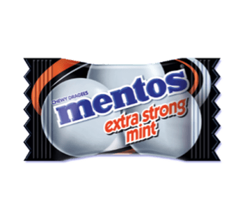 Mentos Extra Strong Pillow Pack