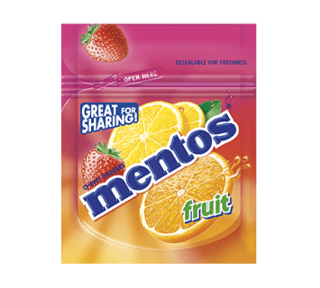 Mentos great for sharing - Fruit