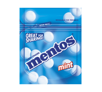 Mentos great for sharing - Mint