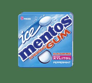 Mentos Ice Gum Peppermint Blister