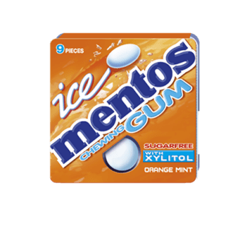 Mentos Ice Gum Orange Blister