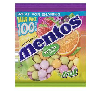 Mentos Sachet Fruit