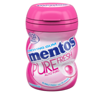Mentos Pure Fresh Nano Bottle bubble fresh