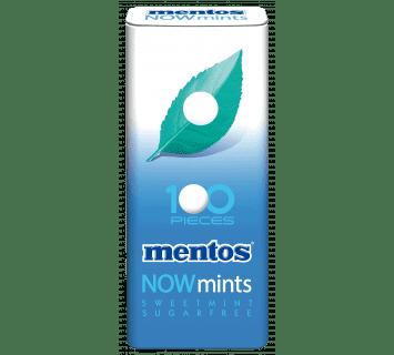Mentos NOWmints Sweetmint 100 pezzi