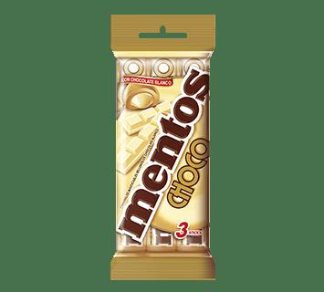 MULTIPACK MENTOS CHOCO BRANCO