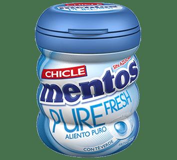 Mentos Gum Pure Fresh Freshmint Bottle 60g