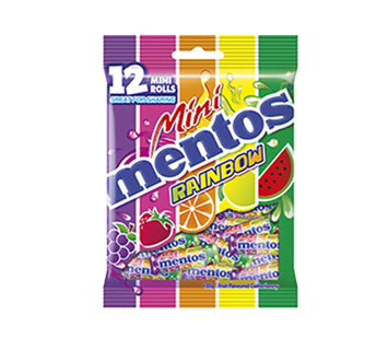 Mentos Rainbow bag