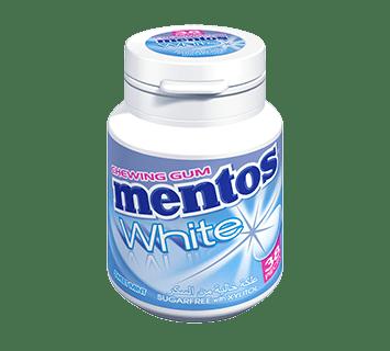 Mentos Gum White  Sweetmint 38p
